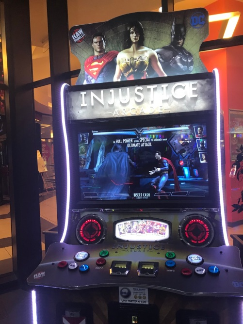 injustice arcade cabinet